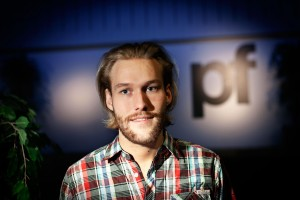 Polyteknisk Forenings nye formand Kristoffer Skaftved Mathiesen.